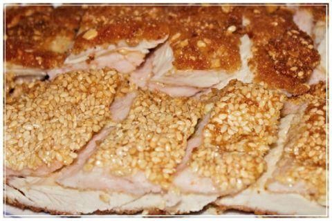 pollo con crema de langostinos rio azul